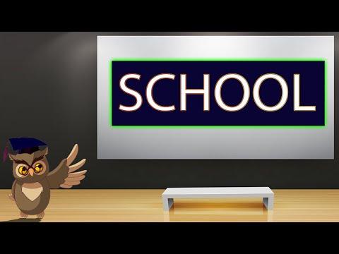 Kids Easy Learning: School Supplies