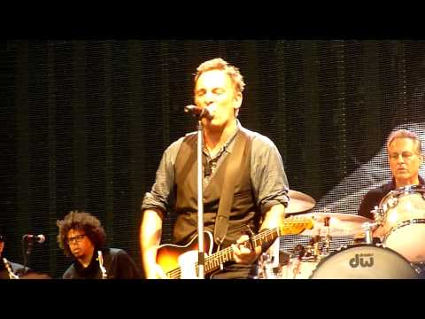 Bruce Springsteen - American Land, Dublin 17/7/2012 [HD]