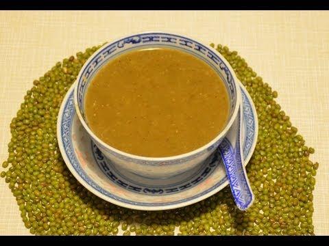Green bean soup recipe/ tong sui 綠豆沙糖水,