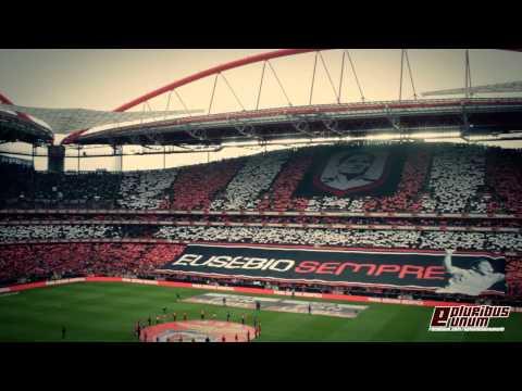 Homenagem arrepiante a Eusébio e Hino (Benfica - Porto 2013/2014)