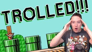"""""""I've Never Been Trolled So Hard In My Life""""   SUPER MARIO MAKER"""