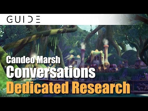Aura Kingdom Guide - Conversations Achievements - #137 Dedicated Research in Candeo Marsh [HD]