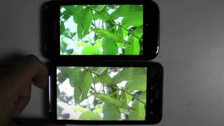 Super Amoled Vs Super LCD Vs Amoled Full HD 1080p (Samsung