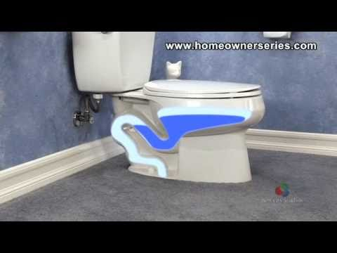how to fix a toilet using a toilet auger youtube. Black Bedroom Furniture Sets. Home Design Ideas
