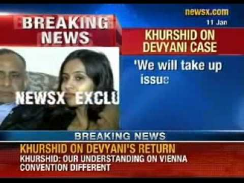 Devyani Khobragade: 'Our understanding on Vienna convention is different', says Khurshid - NewsX