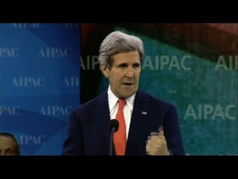 Kerry pledges lasting US support to Israel at AIPAC conference