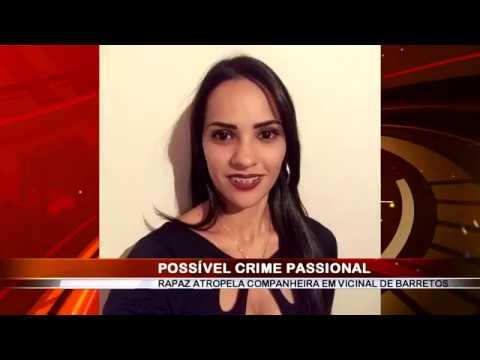 04/07/2018 - Acidente de trânsito entre carro e moto em Vicinal de Barretos deixa motociclista gravemente ferida, caso pode ter desfecho de crime passional