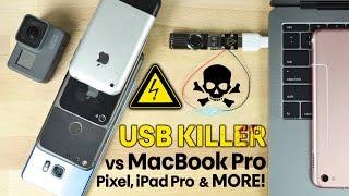 USB Killer vs New MacBook Pro, Google Pixel & More! Instant Death!