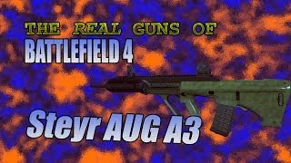 The Real Guns of BF4 — Steyr AUG A3
