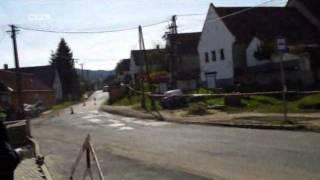 Városlődi rali baleset