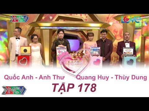 Quốc Anh - Anh Thư | Quang Huy - Thùy Dung | VỢ CHỒNG SON - Tập 178 | VCS #178 | 150117