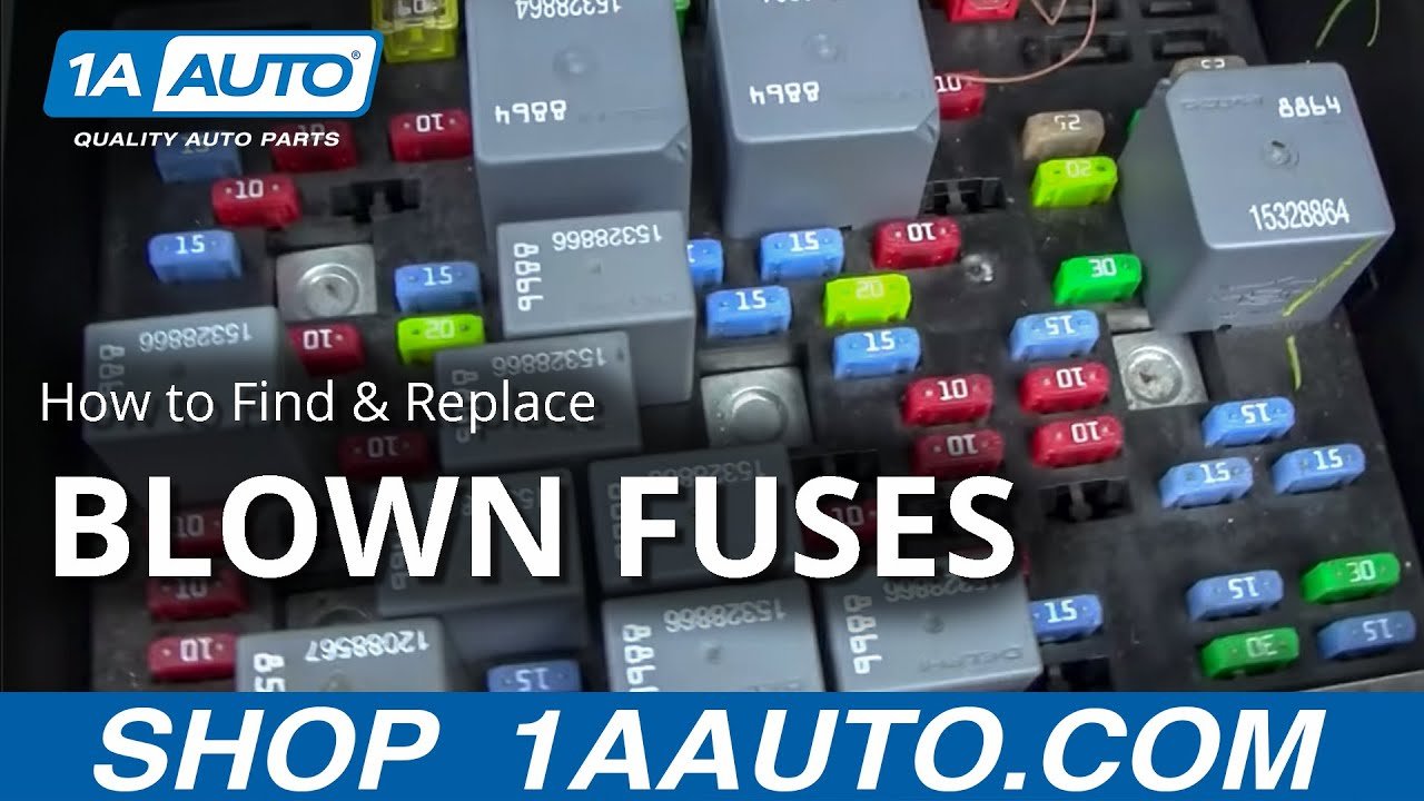 1996 ford explorer fuse panel diagram how to find and replace a blown    fuse    in your car or truck  how to find and replace a blown    fuse    in your car or truck
