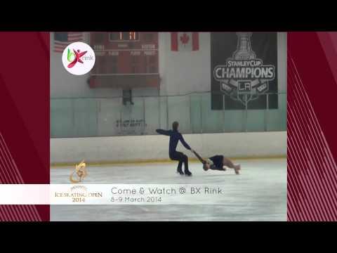 Indonesia Ice Skating Open 2014 @ Bintaro Jaya