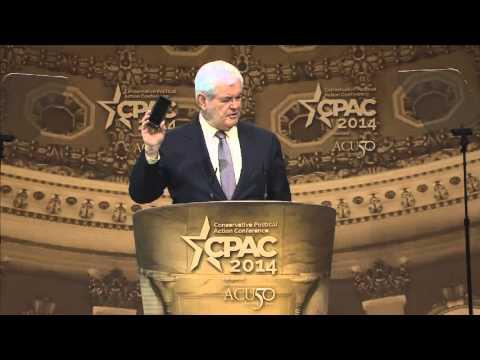 CPAC 2014 - Former U.S. House Speaker Newt Gingrich (R-GA)