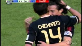 Mexico Vs. Costa Rica 2011 Copa Oro 4-1 All Goals And