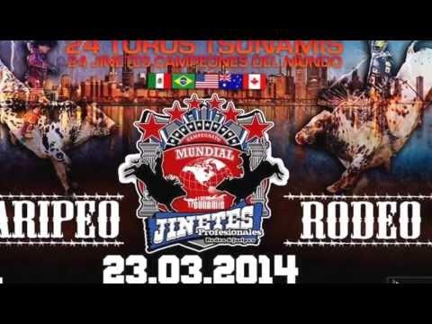 Campeonato Mundial de Jinetes [Jaripeo Ranchero Profesinal VS Rodeo Internacional de Barretos] 2014