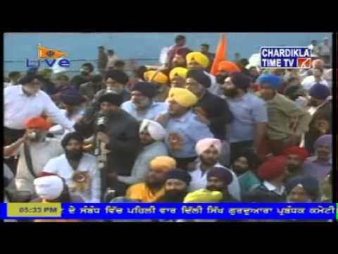 KHALSA lal qila DELHI FATEH MARCH 9 mar 2014