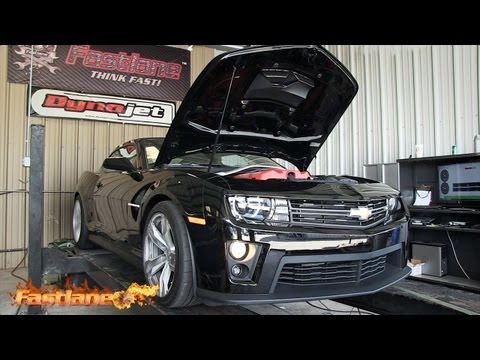 Camaro ZL1 493rwhp - First Modifications - Fastlane