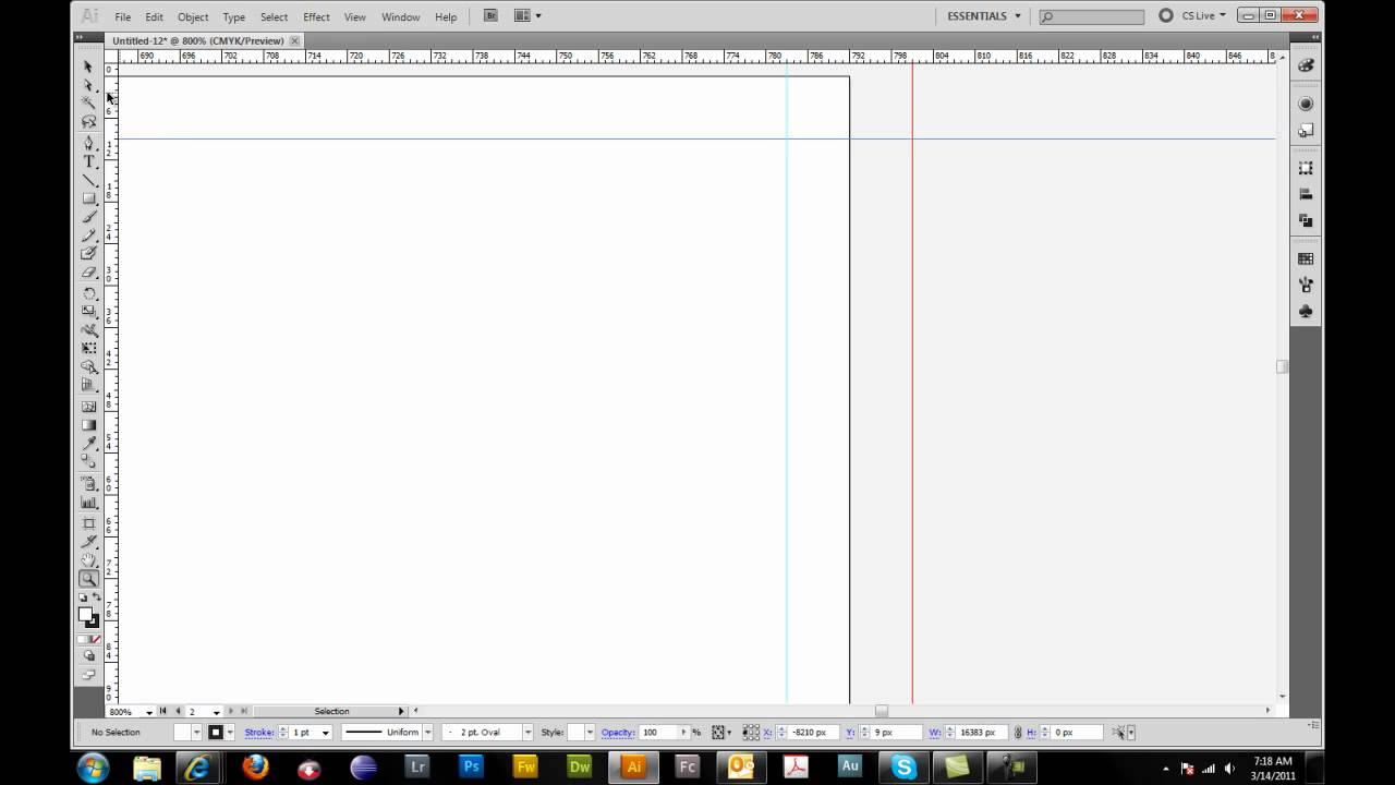 tri fold brochure setup in adobe illustrator youtube. Black Bedroom Furniture Sets. Home Design Ideas