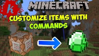 Minecraft Tutorial Use /give Command To Get Items With