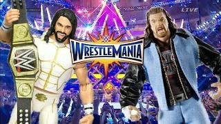 BEST MATCH AT WRESTLEMANIA 33?! (WWE Figures)