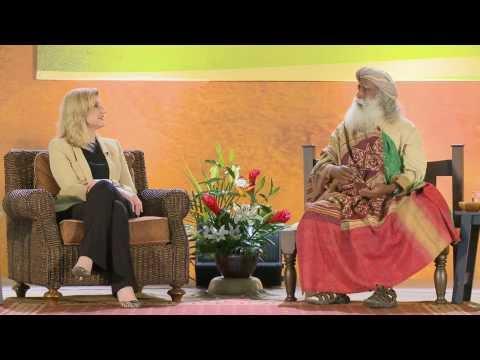 Eliminating Stress - Arianna Huffington and Sadhguru