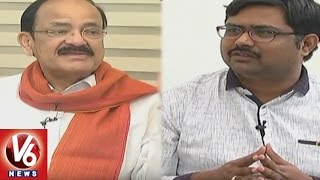 Special Interview With Union Minister Venkaiah Naidu | BJP Grand Victory