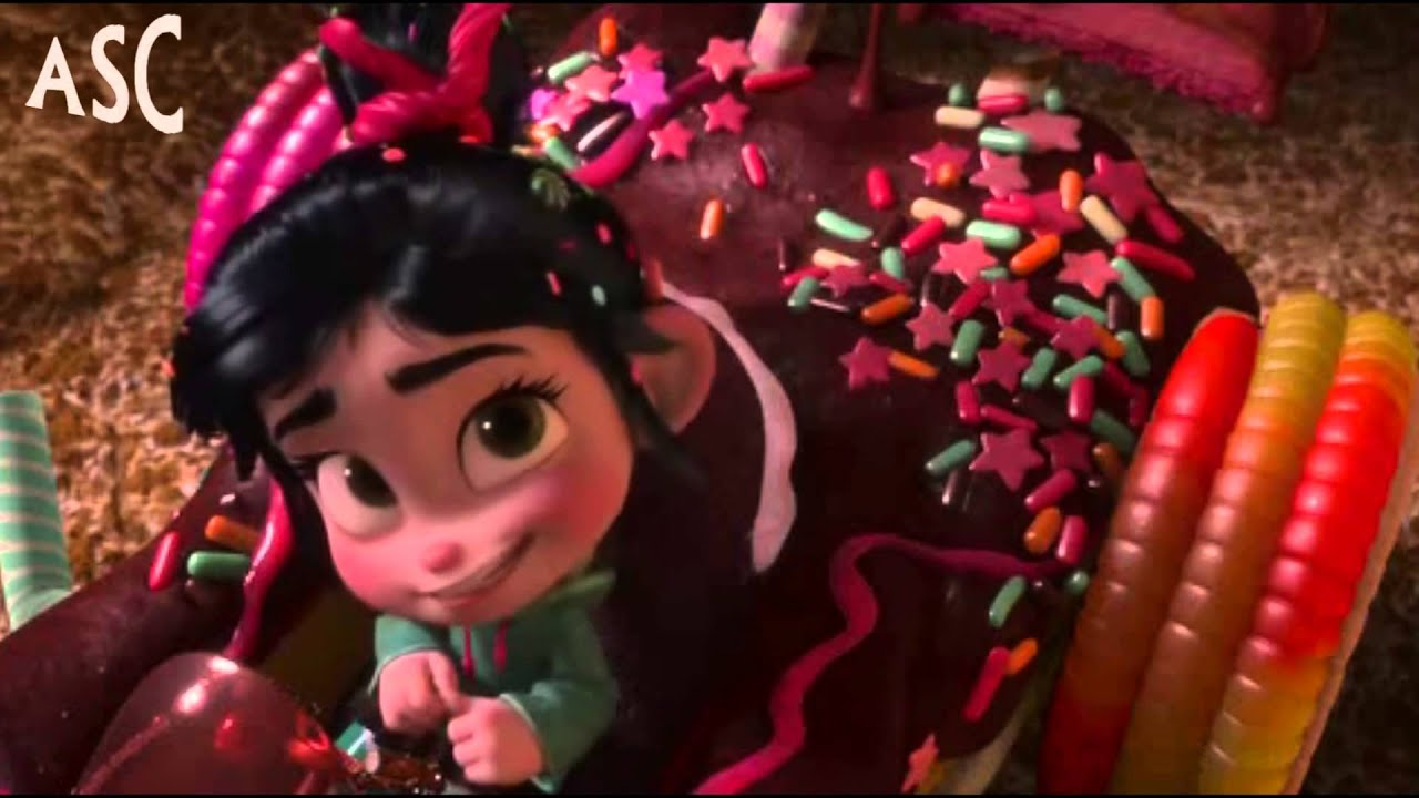 Displaying 19 gt  Images For - Vanellope Von Schweetz And Taffyta Kiss   Vanellope Von Schweetz And Taffyta Kiss