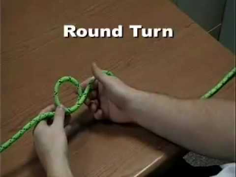 Bight Round Turn Loop Knots (Pocket Tools Training – NCOSFM)