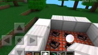 Mcpe Tutorial How To Make A Rocket