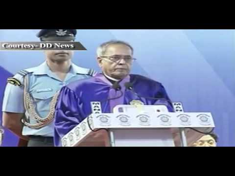 Speech by the President Shri Pranab Mukherjee at the NIT, Durgapur