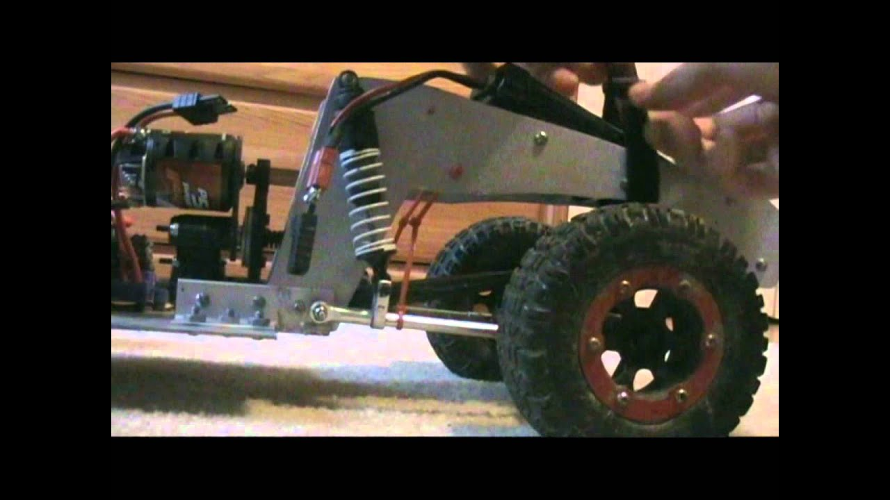 Solid axle 4 link short course truck build youtube