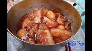Thịt kho tàu ngon tuyệt đỉnh mà không cần nước dừa || Caramelized Pork and Eggs || Natha Food