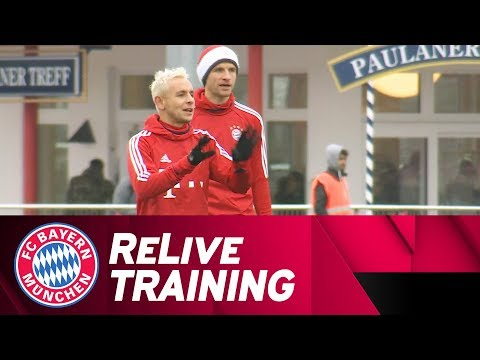 FC Bayern Training after Paris St. Germain | ReLive