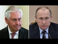 Tillerson meets with Putin to discuss Syrian crisis