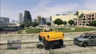 GTA5 PIMPED MONSTER TRUCK