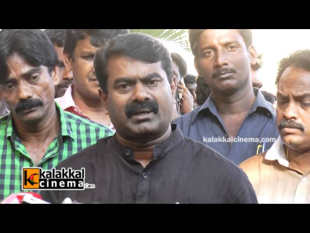 Director Seeman Speaks about Balu Mahendra