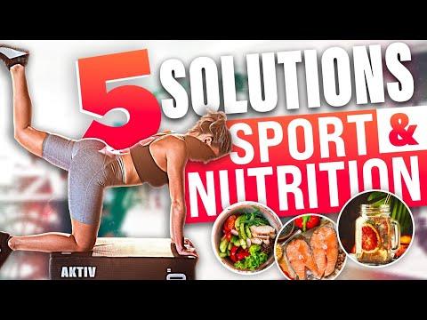 5 SOLUTIONS SPORT ET NUTRITION POUR 2021 - Justine GALLICE