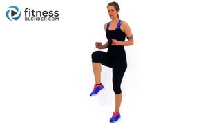 Fat Burning Cardio Workout 37 Minute Fitness Blender