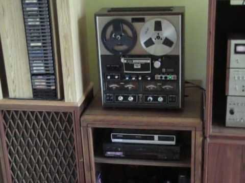 Kicking It Old School With A Vintage Stereo System Youtube