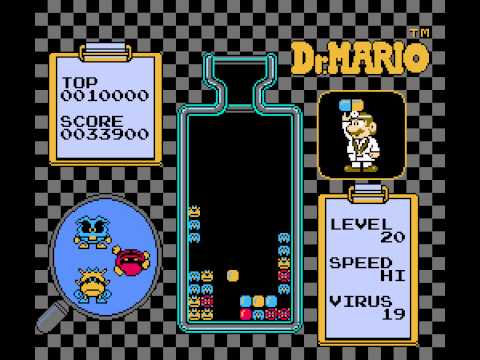 Dr Mario - Level 20, High Speed - User video