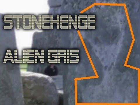 Videos de extraterrestres reales 2014. Alien gris grabado en Stonehenge,