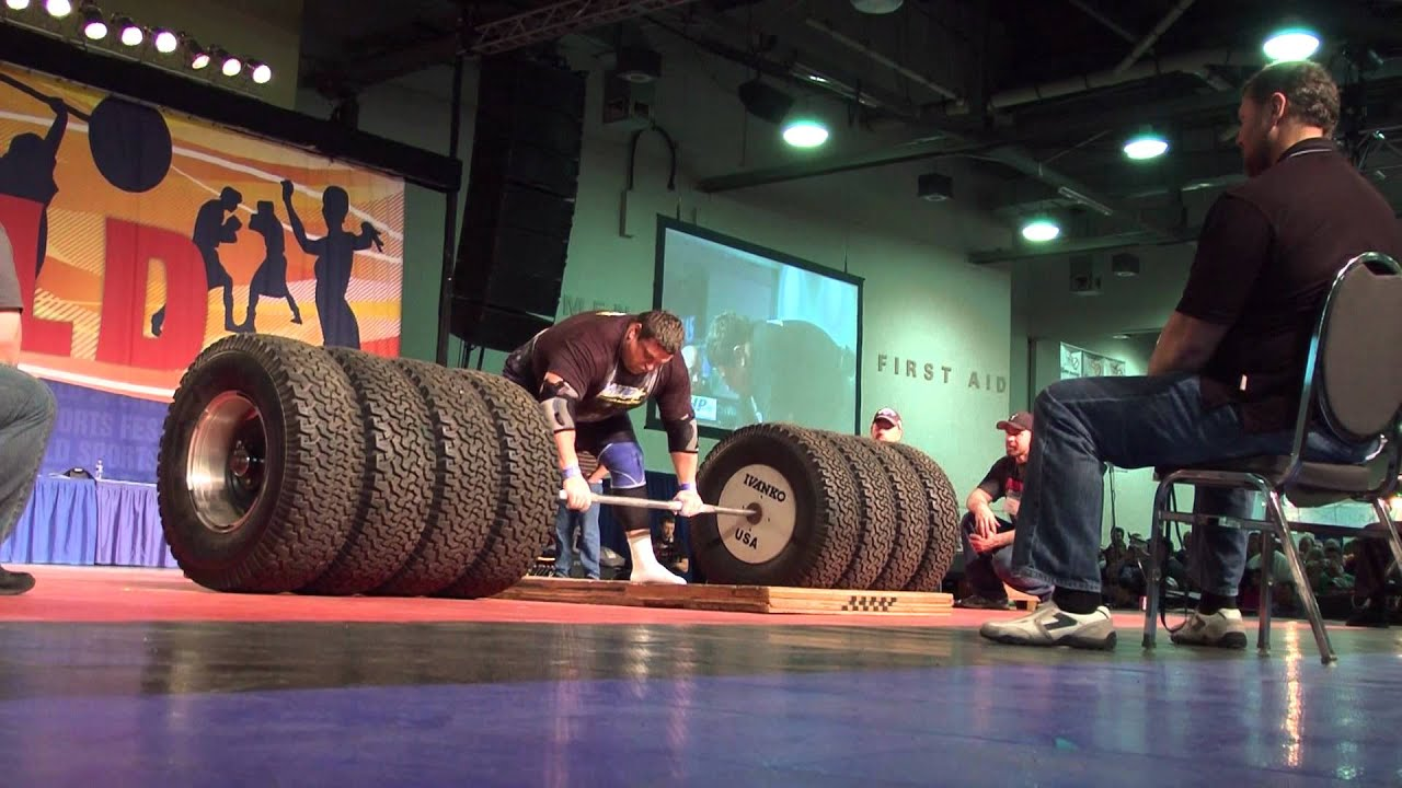 L'homme le plus fort du monde : il porte plus de 500 kilos