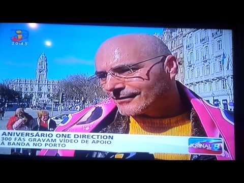 Meet Directioners Porto - TVI 30/3/2015  (One Direction)