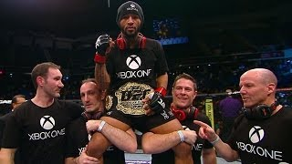 Entrevista posterior con Demetrious Johnson