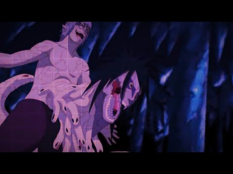 Sasuke Uchiha and Itachi Uchiha vs Kabuto - Naruto Shippuden 4th Shinobi War, Kabuto obscured his vision to prevent being caught in genjutsu, and sent his snakes out to attack, but the brothers used their Susanoo to intercept and sever...