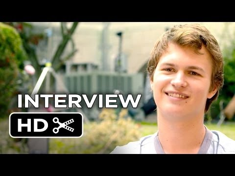 The Fault In Our Stars Interview - Ansel Elgort (2014) - Shailene Woodley Drama HD