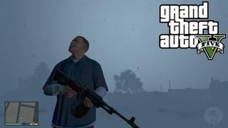 GTA 5: Change Weather CHEAT! Xbox 360 + PS3 Cycle Snow