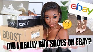 DID I REALLY BUY SHOES ON EBAY? | YEEZYS, VALENTINO AND STRAIGHT UP COPIES.