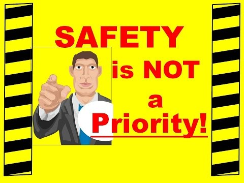 Safety Is NOT A Priority - Safety Training Video